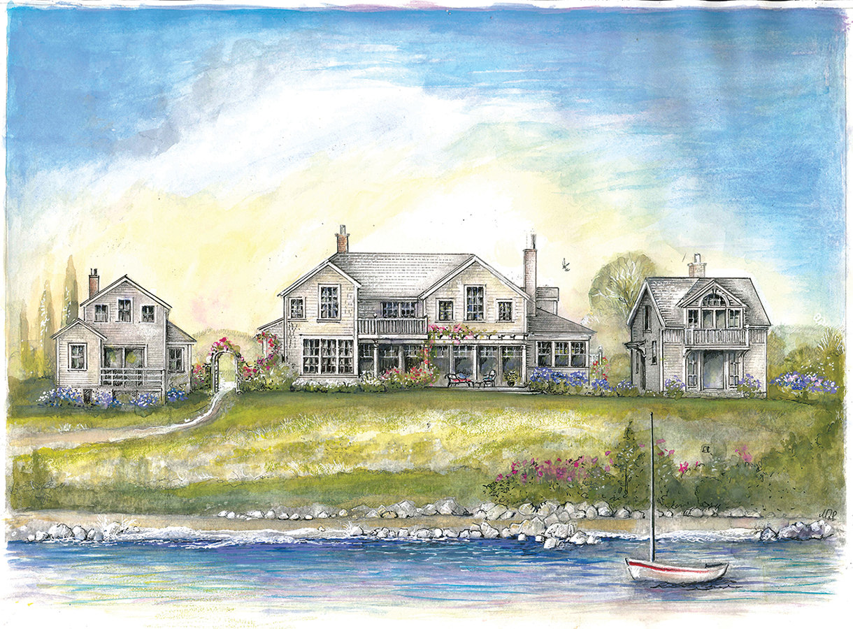 Quaise Road Waterfront Residence, Nantucket, MA - Pauli ...